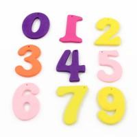 Цифра деревянная (подвеска)