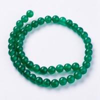 Агат зелёный (нитка)