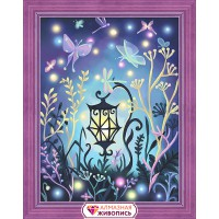 Волшебный фонарь, 30х40