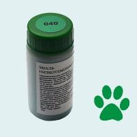 Низкотемпературная эмаль бриллиантовая зеленая (040)
