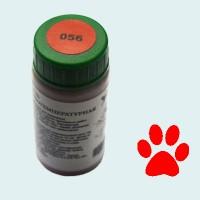 Низкотемпературная эмаль красная (056)