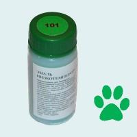 Низкотемпературная эмаль прозрачная зеленая (101)