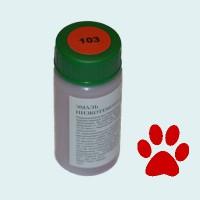 Низкотемпературная эмаль прозрачная красная (103)
