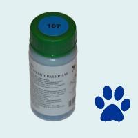 Низкотемпературная эмаль прозрачная синяя (107)