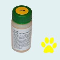 Низкотемпературная эмаль прозрачная желтая (110)