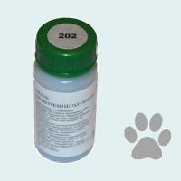 Низкотемпературная эмаль металлик серебро (202)
