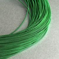 Канитель жесткая зеленая